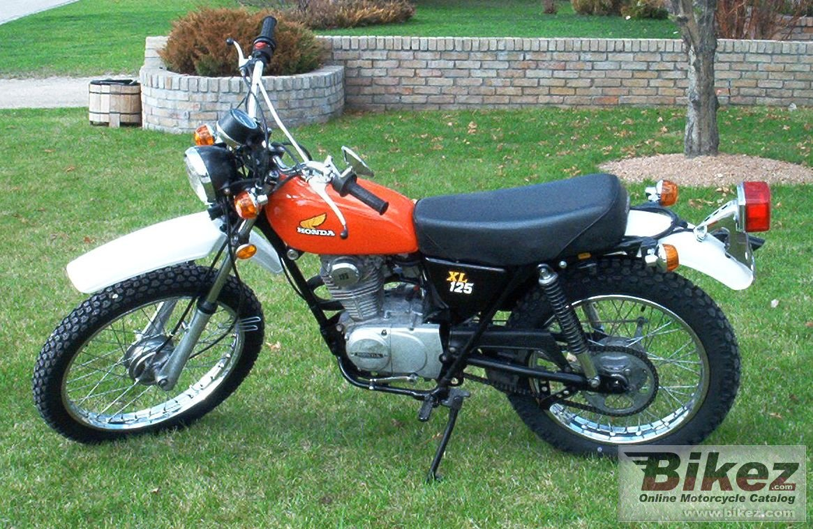 honda xl 125 picture. Black Bedroom Furniture Sets. Home Design Ideas