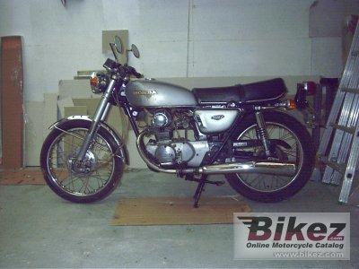 1976 Honda CB 125 disc