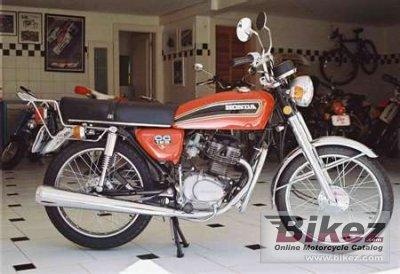 1976 Honda CG 125