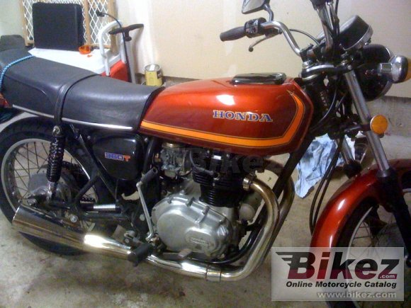 1977 Honda CJ 360 T photo