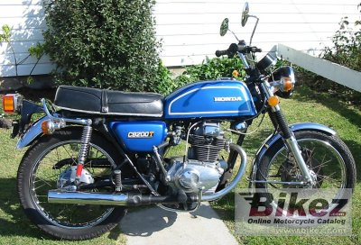 1977 Honda CB 200 Disc photo