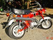 1977 Honda ST 70 DAX photo