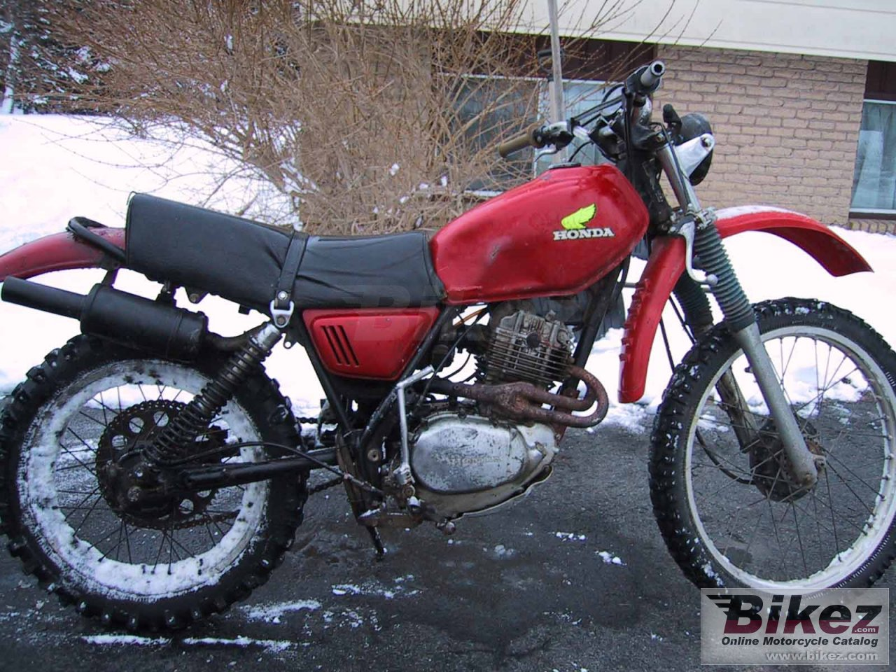 Big Todd Rudolph xl 250 picture and wallpaper from Bikez.com