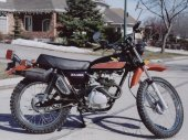 1977 Honda XL 125 photo