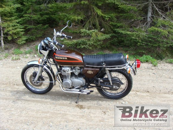1977 Honda CB 550 Four K photo
