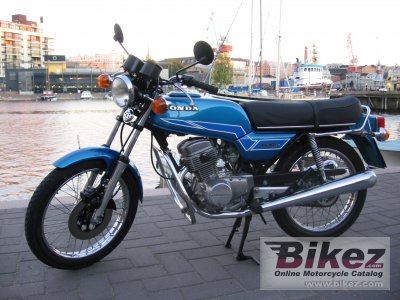 1977 honda cb 125 t specifications and pictures. Black Bedroom Furniture Sets. Home Design Ideas