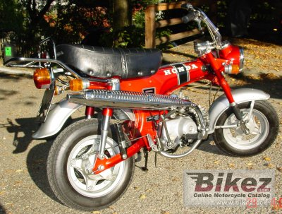 1977 honda st 70 dax specifications and pictures. Black Bedroom Furniture Sets. Home Design Ideas