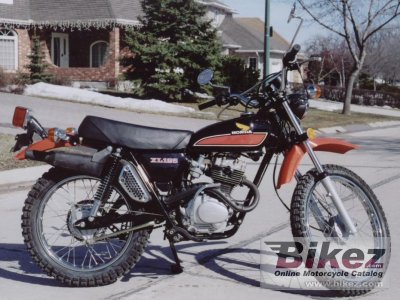 1977 honda xl 125 specifications and pictures. Black Bedroom Furniture Sets. Home Design Ideas