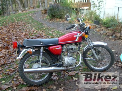 1978 Honda CB 125 S (J) photo