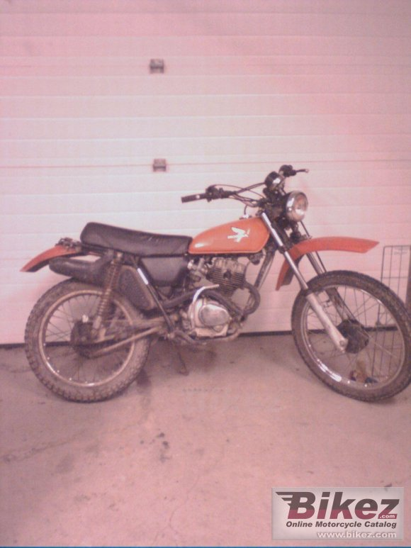 1978 Honda XL 125 photo
