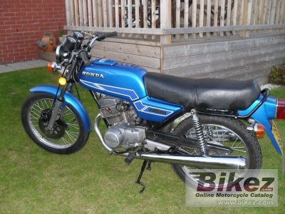 1978 honda cb 125 t specifications and pictures. Black Bedroom Furniture Sets. Home Design Ideas