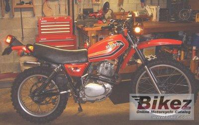 1978 Honda XL 250