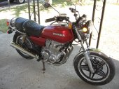 1979 Honda CB 650 (reduced effect)