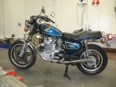 1979 Honda CX 500 Custom (reduced effect)