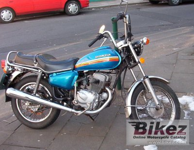1979 Honda CM 185 T Chopper photo