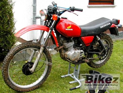 1979 Honda XL 185 S photo