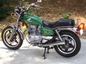 1980 Honda CM 400 T (reduced effect)