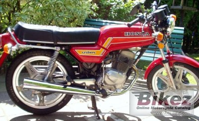 1980 Honda CB 125 T 2 photo