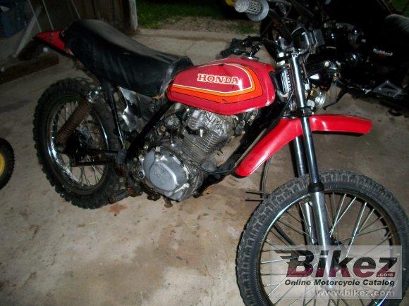 1980 Honda XL 185 S