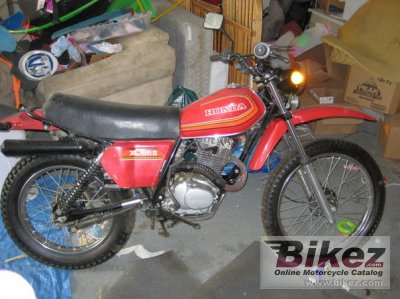 1980 Honda Xl 185 S Specifications And Pictures