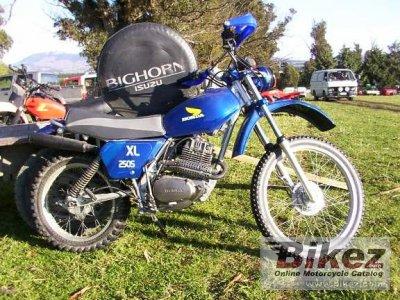 1980 Honda XL 250 S