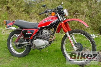 1981 Honda XL 250 S photo