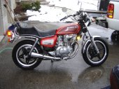 1981 Honda CM 400 T (reduced effect)