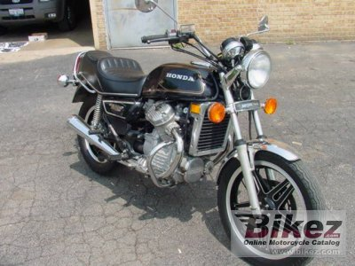 1981 Honda CX 500 specifications and pictures