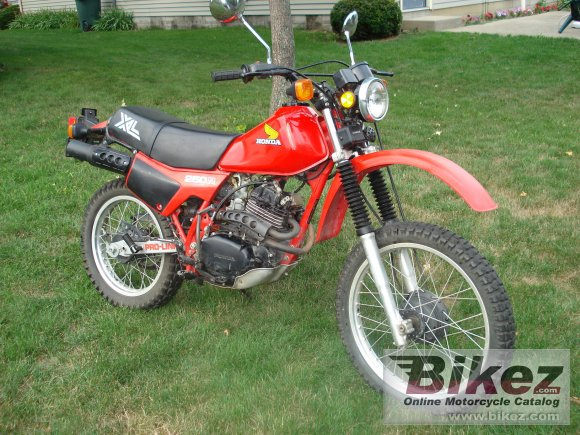 1982 Honda XL 250 R photo