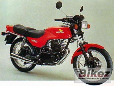 1982 Honda CB 250 RS photo