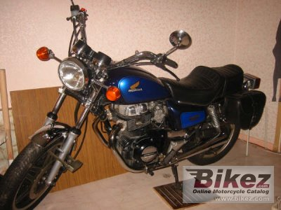 1982 Honda CM 400 T (reduced effect) photo