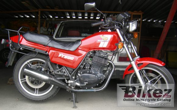 1982 Honda FT 500 photo