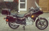 1982 Honda GL 500 Silver Wing (reduced effect)