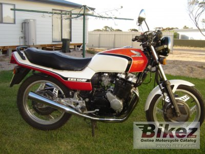 1982 Honda CBX 550 F photo