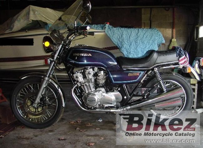 Big Phillip Bohn cb 750 k picture and wallpaper from Bikez.com