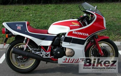 1982 Honda CB 1100 R (reduced effect)