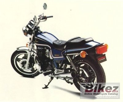 1982 Honda CB 650 RC (reduced effect)
