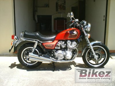 1982 Honda Cb 750 C Specifications And Pictures