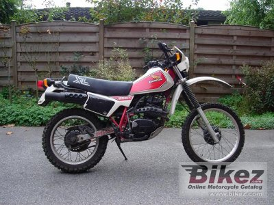 1982 Honda Xl 250 R Specifications And Pictures
