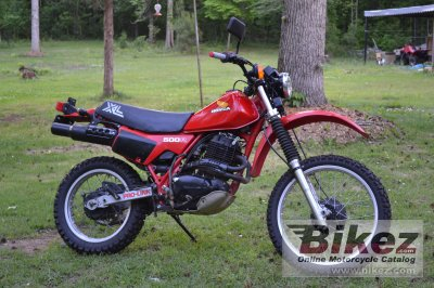 1982 Honda XL 500 R specifications and pictures