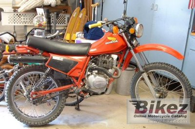 1983 Honda XL 185 S photo