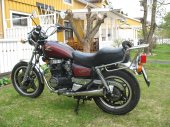 1983 Honda CM 400 T (reduced effect)