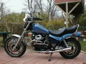 1983 Honda CX 650 C (reduced effect)