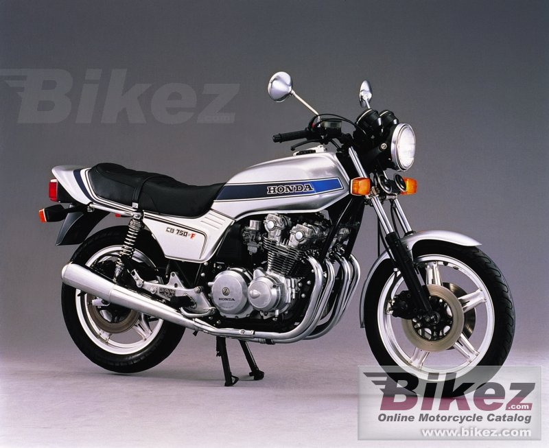 Big  cb 750 f picture and wallpaper from Bikez.com