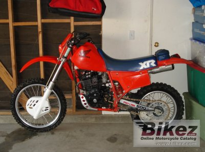 1983 Honda XR 500 photo