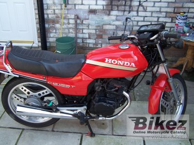1983 Honda CB 125 T 2 (reduced effect)
