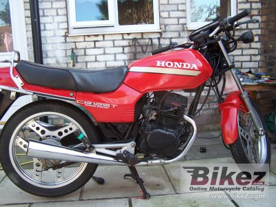 1983 honda cb 125 t 2 specifications and pictures. Black Bedroom Furniture Sets. Home Design Ideas