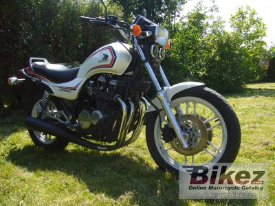 1983 Honda CBX 650 E (reduced effect)