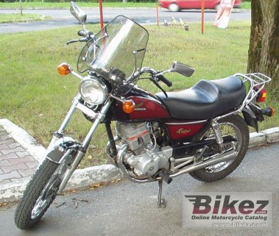 1983 honda cm 125 c specifications and pictures. Black Bedroom Furniture Sets. Home Design Ideas