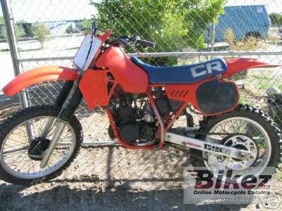 1983 Honda CR 125 R